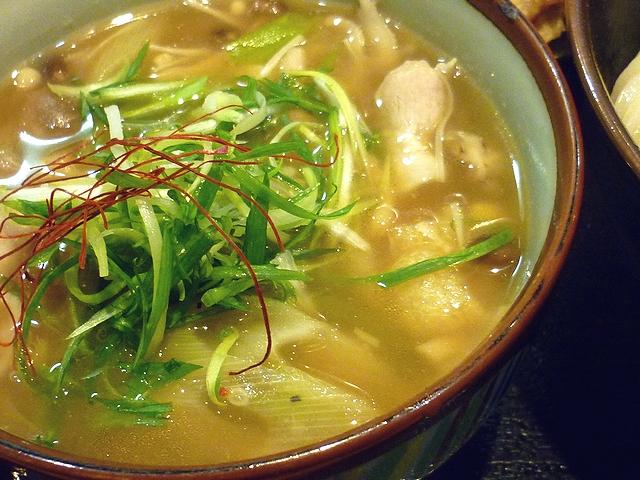 豚バラとキノコの塩つけ麺のつけダレ