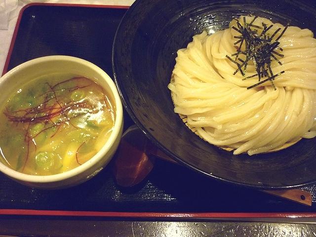 荒木伝次郎 牡蠣塩バターつけ麺