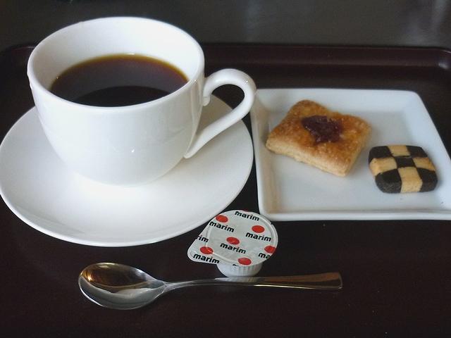 ホットコーヒー(スイーツ付)