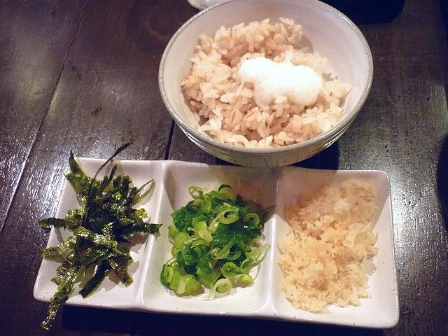 台湾とろみつけ麺の追い飯セット