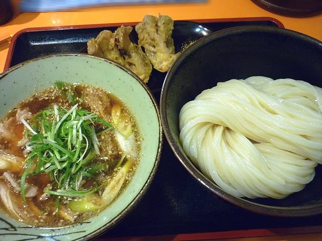 豚バラ肉の肉汁つけ麺