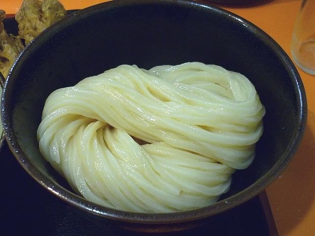 豚バラ肉の肉汁つけ麺のうどん