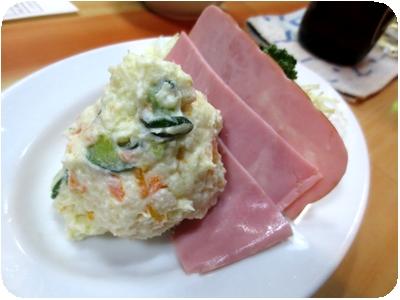 ハムポテトサラダ