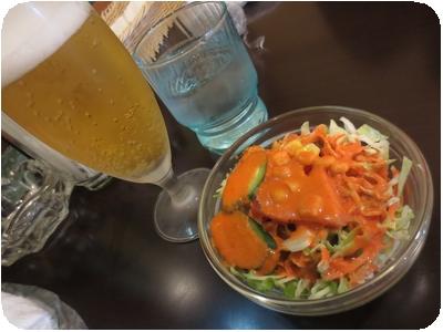 ランチビール・サラダ