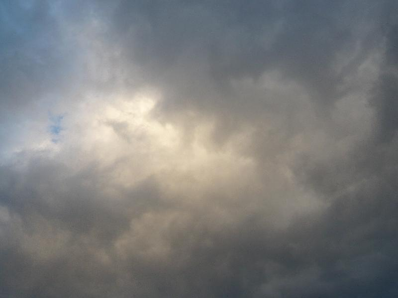 11月10日雪雲