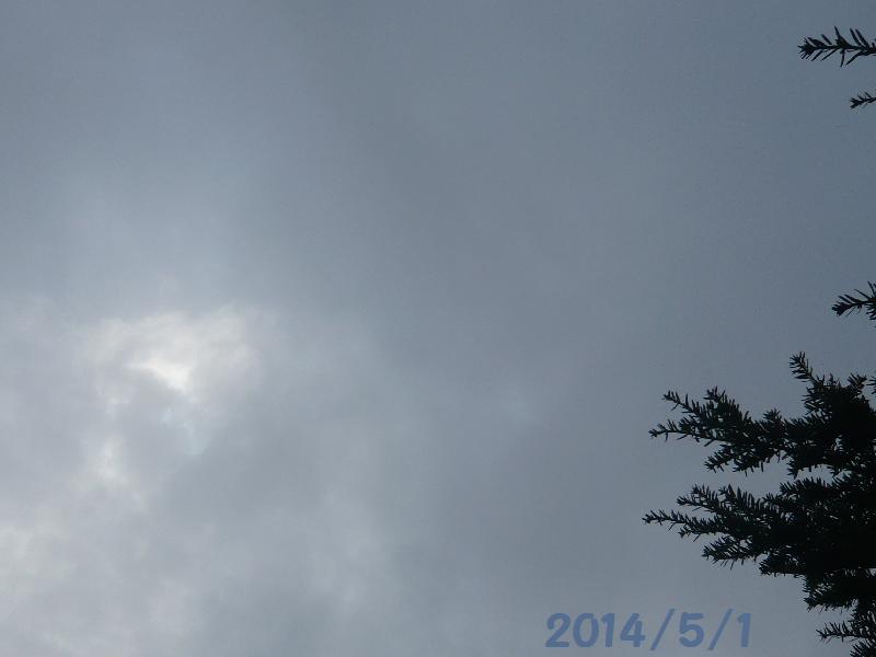 曇り5月1日