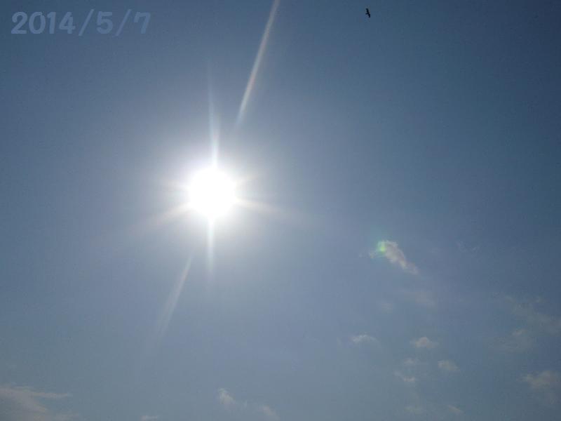 太陽5月7日
