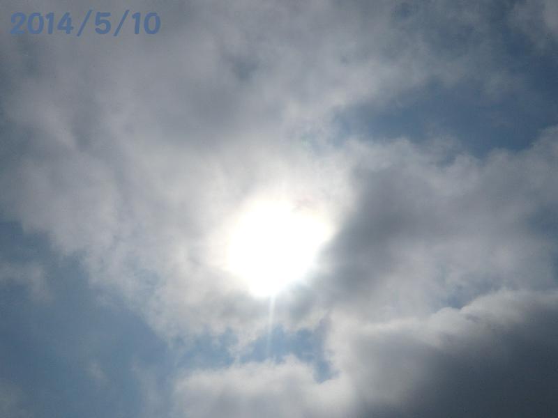 太陽5月10日