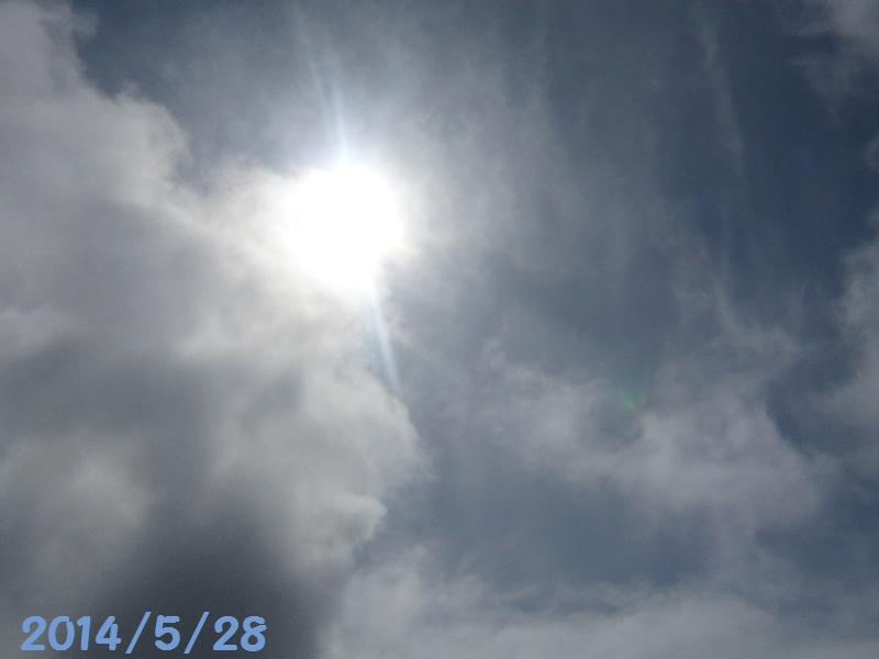 太陽5月28日