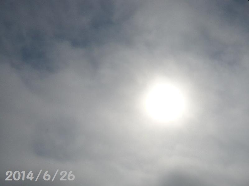 太陽6月26日