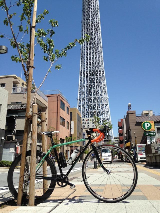 シクロクロス 東京スカイツリー