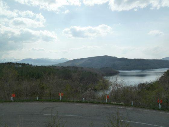 羽鳥湖展望台から