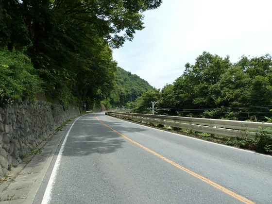 国道140号線長瀞町樋口付近