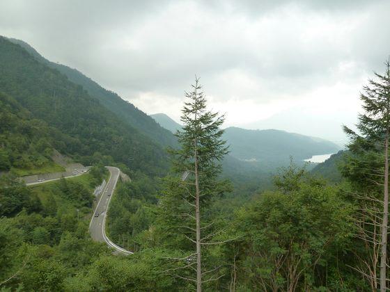 金精峠から眺める景色