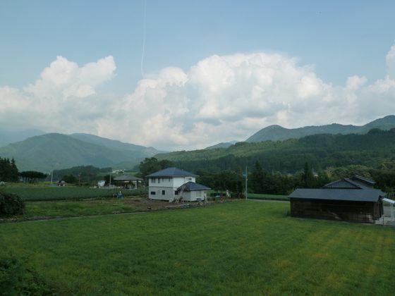 長閑な片品村の風景