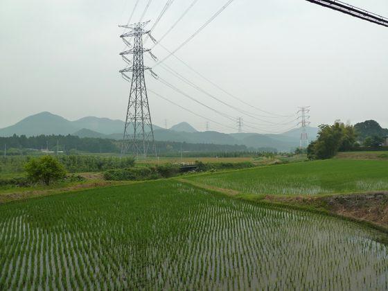 国道119号線宇都宮市徳次郎付近
