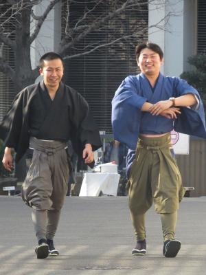 節男さんと慎さん 20140201