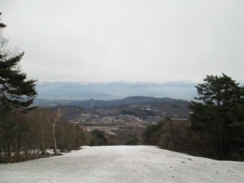 春真近の雪原遊び22