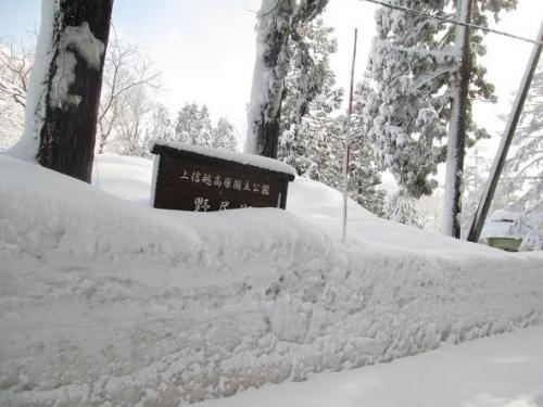 大雪の町5