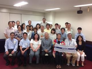 青年海外協力隊大阪府OBOG会7月