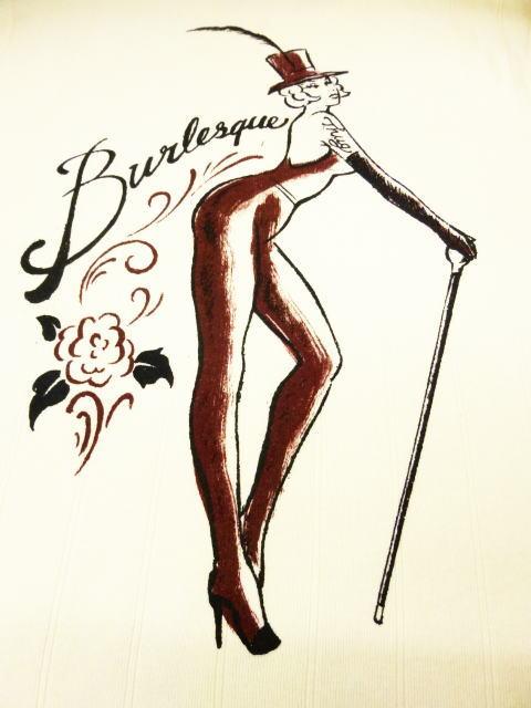 GANGSTERVILLE Burlesque Girl
