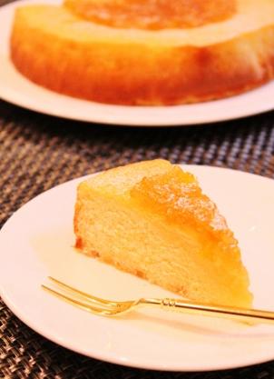 柚子リンゴジャムで簡単ケーキ (302x417)