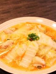 簡単✿白菜と鶏肉のトロ~リウマあん✿ (316x417)
