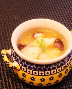 簡単☆生タラの野菜たっぷり中華風スープ (285x350)