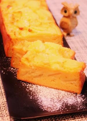 ココナッツオイルdeズボラりんごケーキ (302x417)