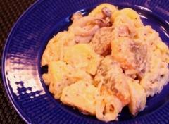 ジャガイモと鮭のクリーム煮 (350x256)