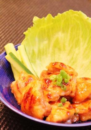 ご飯がすすむ☆鶏もも肉の照り焼き☆ (294x417)