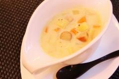温まる♥簡単カレークリームスープ (350x235)
