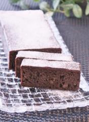 HMで簡単♪ココアのチョコガナッシュがけケーキ (307x418)