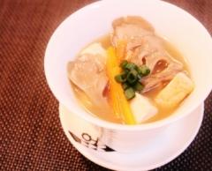 舞茸・豆腐・油揚げの味噌汁~♪ (350x283)