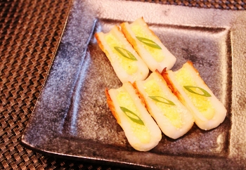 お弁当*おつまみ ちくわのガーリックマヨ (350x242)