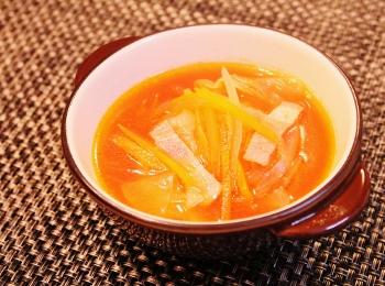 ケチャで簡単♪☆野菜スープ☆ (350x260)