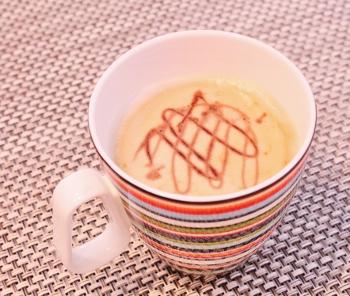 バリスタで、ちょこっとコーヒー^^ (350x296)