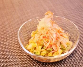 白菜とカニカマで♪あっさり一品 (350x284)