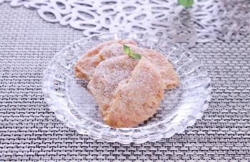 胡桃クッキー 粉糖 (350x228)