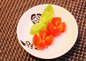 ミニトマト飾り切り (350x248)