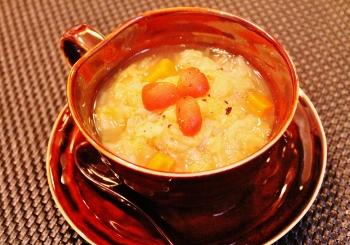 シンプルがおいしい☆野菜のコンソメスープ (350x245)