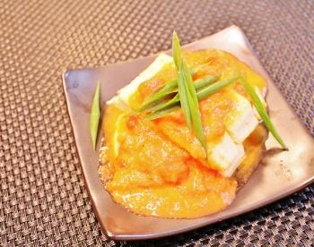 激安!豆腐ステーキトマトソース♪ (350x276)