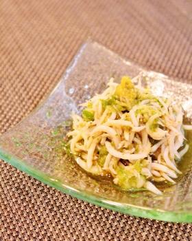 シラスの緑酢和え (280x350)