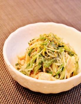 水菜と豚の柚子胡椒☆覚え書き (275x350)