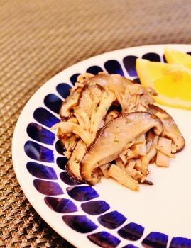 キノコのバター炒め (269x350)