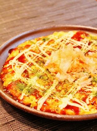 ふわふわ✿豆腐deヘルシーお好み焼き風✿ (312x418)