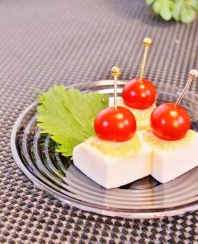 はんぺんとプチトマトの味噌マヨピンチョス (284x350)
