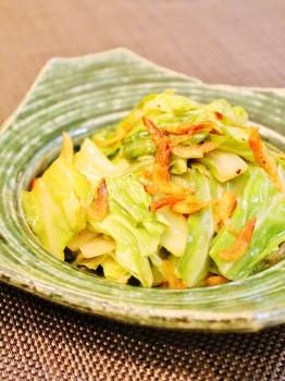 シンプルにっ桜海老とキャベツの炒め物 (262x350)