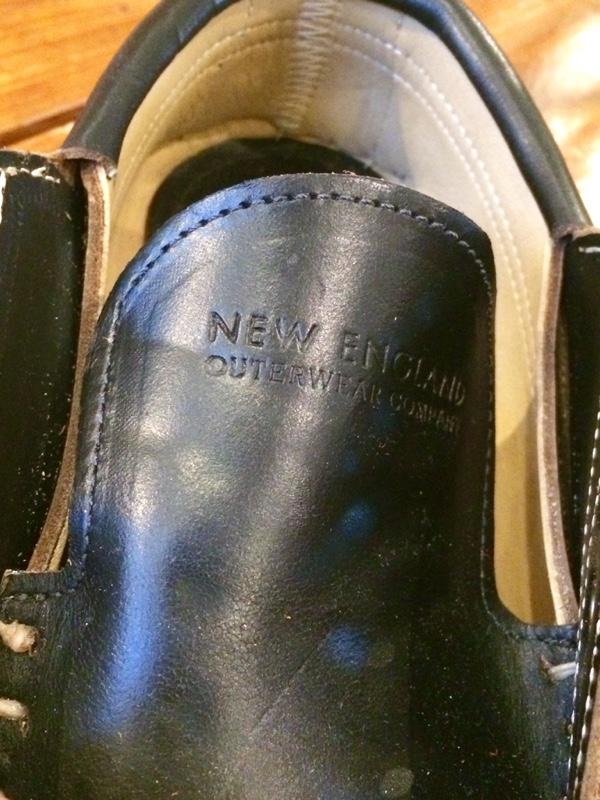 New England Outerwear Co.( U30cbu30e5u30fc U30a4u30f3u30b0u30e9u30f3u30c9 U30a2u30a6u30bfu30fcu30a6u30a7u30a2 U30abu30f3u30d1u30cbu30fc) / U0026quot;4-EYE CATAUMET- BLACK CHROMEXCELu0026quot;u2502DOGWOOD