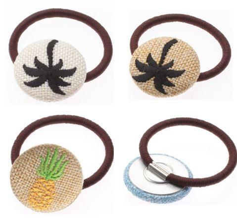 サマーモチーフ刺繍ポニー2
